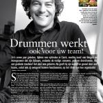 """Stuk over Drumwerk in """"Leven"""""""